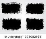 set of grunge banners. grunge... | Shutterstock .eps vector #375082996