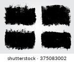 set of grunge banners. grunge... | Shutterstock .eps vector #375083002