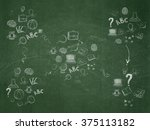 education background  school... | Shutterstock . vector #375113182