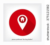 the label on the map icon | Shutterstock .eps vector #375121582