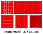 Shipping Container. Vector...
