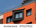 modern city architecture in... | Shutterstock . vector #375127012