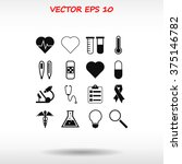 medical icons | Shutterstock .eps vector #375146782