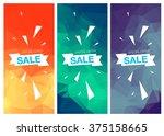 super sale special offer... | Shutterstock .eps vector #375158665