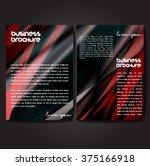 vector brochure template design ... | Shutterstock .eps vector #375166918