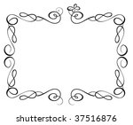 vintage frame   Shutterstock .eps vector #37516876