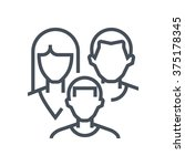 family insurance icon suitable... | Shutterstock .eps vector #375178345