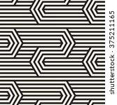 vector seamless pattern. modern ... | Shutterstock .eps vector #375211165