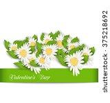illustration nature postcard... | Shutterstock . vector #375218692
