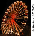 Ferris Wheel At The Fair Ground ...