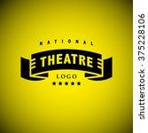vector theatre and ballet... | Shutterstock .eps vector #375228106