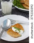 lithuanian potato pancakes with ...