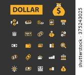 dollar  cash  coins  bankontes  ...   Shutterstock .eps vector #375243025