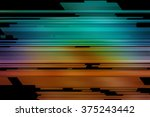 abstract multicolored... | Shutterstock . vector #375243442