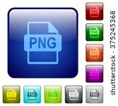 set of png file format color...