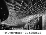 king's cross london railway... | Shutterstock . vector #375250618