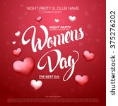 Women's Day Design. 8 March...
