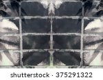 futuristic abstract grunge... | Shutterstock . vector #375291322