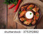 Sour Sweet Baked Chicken Wings...