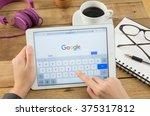 bangkok  thailand   febuary 8 ... | Shutterstock . vector #375317812