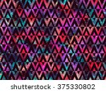geometric triangles nights... | Shutterstock .eps vector #375330802