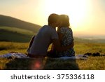 Stock photo cuddling couple couple in love love couple love hug love kiss couple kiss 375336118