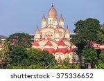 dakshineswar kali temple is a...   Shutterstock . vector #375336652