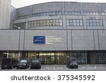 Small photo of PRAGUE, CZECH REPUBLIC - FEBRUARY 11, 2016: The European Global Navigation Satellite Systems Agency (European GNSS Agency; GSA) headquarters on February 11, 2016 in Prague, Czech Republic.