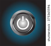 power button  vector... | Shutterstock .eps vector #375365596