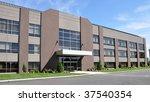 exterior of a modern office... | Shutterstock . vector #37540354