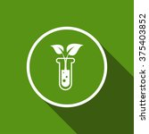 plant in test tube flat icon...   Shutterstock .eps vector #375403852