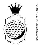 golf club design    Shutterstock .eps vector #375405016
