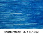 Small photo of blue texture painted with acrylic paint