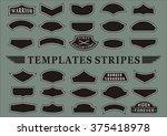 templates stripes | Shutterstock .eps vector #375418978
