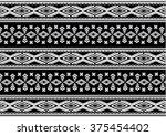 geometric ethnic pattern... | Shutterstock .eps vector #375454402
