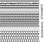 tribal seamless texture....   Shutterstock .eps vector #375458875