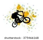 bmx rider | Shutterstock . vector #375466168