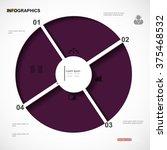 infographic design vector... | Shutterstock .eps vector #375468532