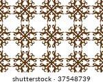 decorative wallpaper design in...   Shutterstock .eps vector #37548739