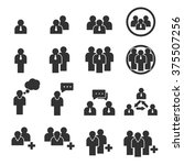 people icon | Shutterstock .eps vector #375507256