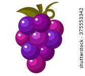 grape fruit icon | Shutterstock .eps vector #375553342