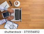 professional doctor use... | Shutterstock . vector #375556852