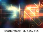 technology abstract | Shutterstock . vector #375557515