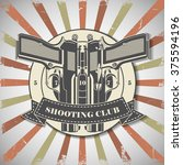 symbol shooting club  | Shutterstock .eps vector #375594196