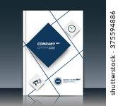 abstract composition  box block ... | Shutterstock .eps vector #375594886
