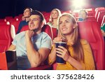 cinema  entertainment and... | Shutterstock . vector #375628426