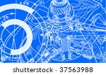 technical drawing background 1   Shutterstock .eps vector #37563988
