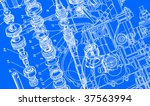 technical drawing background 3   Shutterstock .eps vector #37563994
