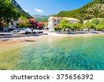 beautiful beach on peljesac...   Shutterstock . vector #375656392