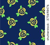 cute seamless pattern with the... | Shutterstock .eps vector #375698476